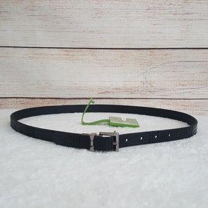 New kate spade Metallic Snakeskin Reversible Belt